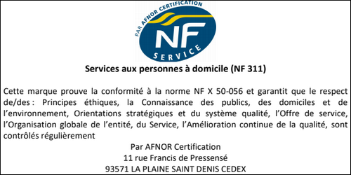 NF certified